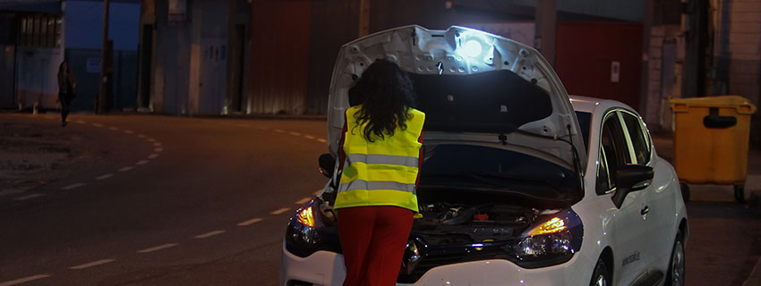Rec Flash lámpara de asistencia para averías en carretera