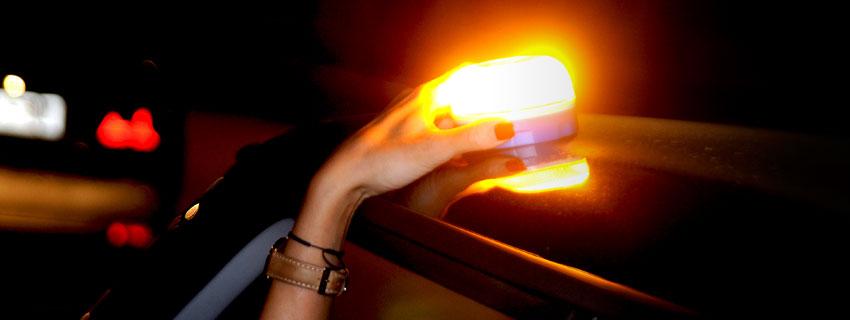 Rec Flash luz de emergencia Galería